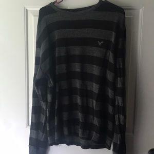 3/$10 American Eagle long-sleeve striped shirt